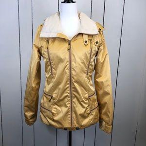 RARE Burton 2L Elevation Snowboard Jacket Gold